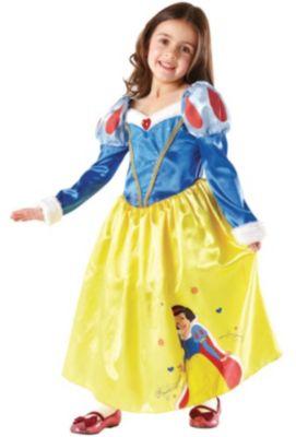 Kostüm Schneewittchen Winter Wonderland Gr. 116/128 Mädchen Kinder