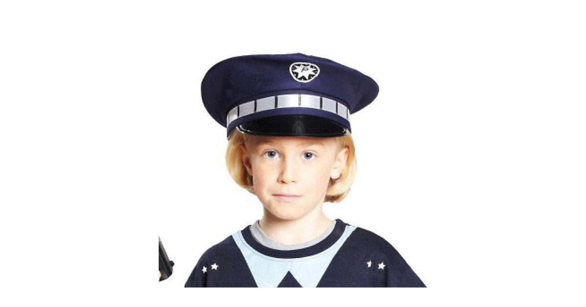 blaue Polizeimütze Gr. 55 Jungen Kleinkinder