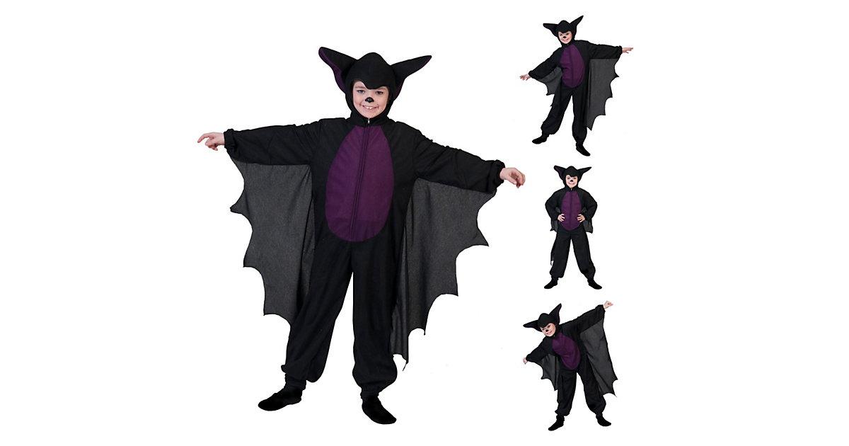 Kostüm Kleine Fledermaus schwarz Gr. 116
