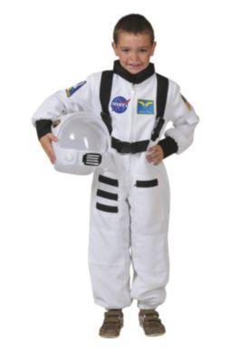 Kostüm Astronaut Overall weiss Gr. 104 Jungen Kleinkinder