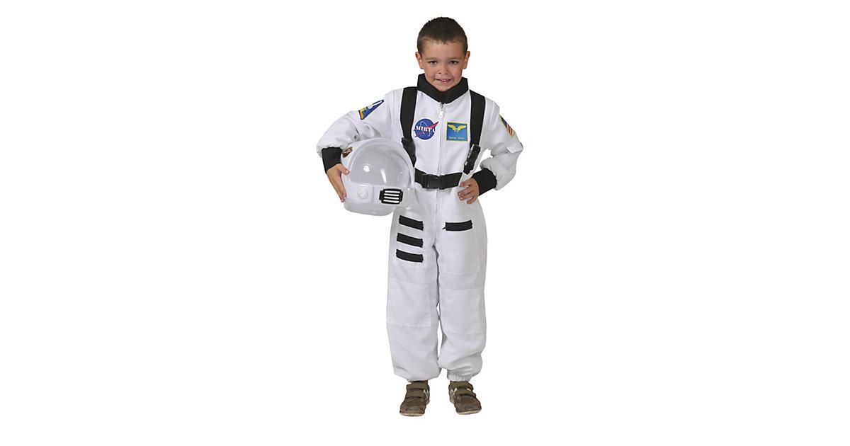 Kostüm Astronaut Overall weiss Gr. 104