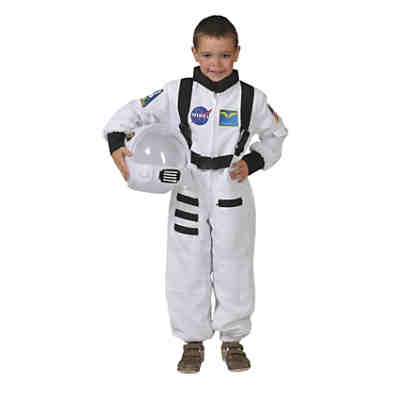 Kostum Astronaut Overall Weiss Funny Fashion Mytoys