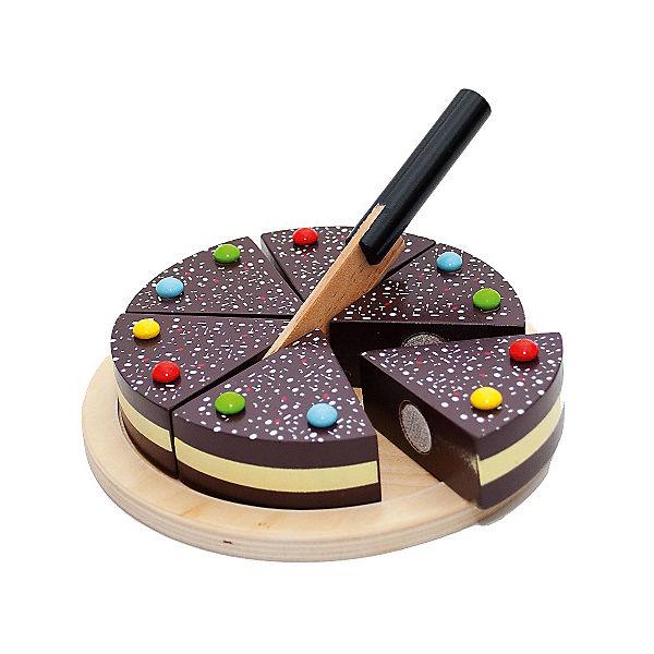 Spiellebensmittel Schokoladentorte zum Schneiden, Chr. Tanner