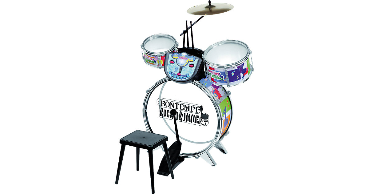 Bontempi · Schlagzeug mit Elektronikmodul