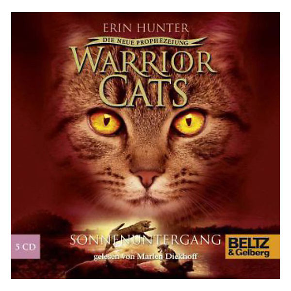 Warrior Cats - Die neue Prophezeiung: Sonnenuntergang, Band 6, Audio-CDs