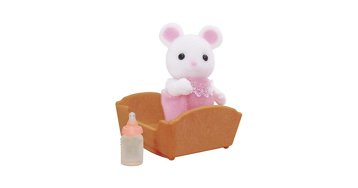 Sylvanian Families Weiße Mäuse Baby Puppenhauszubehör