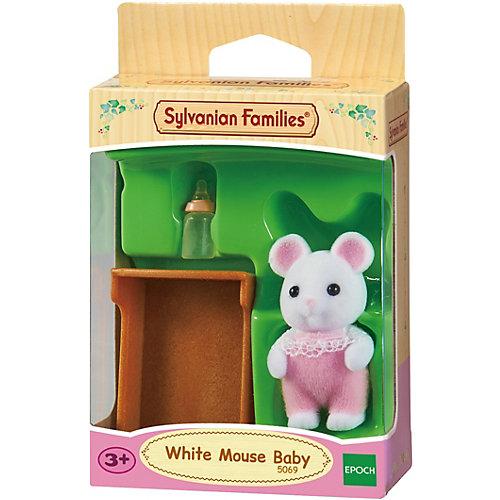"""Набор """"Малыш Белый Мышонок"""" Sylvanian Families от Эпоха Чудес"""