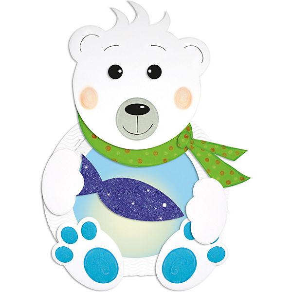 Laternenbastelset Eisbär Ursus