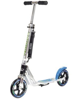 "City Scooter Big Wheel Air Hudora Alu 8/""205 Air weiß//silber 205mm"