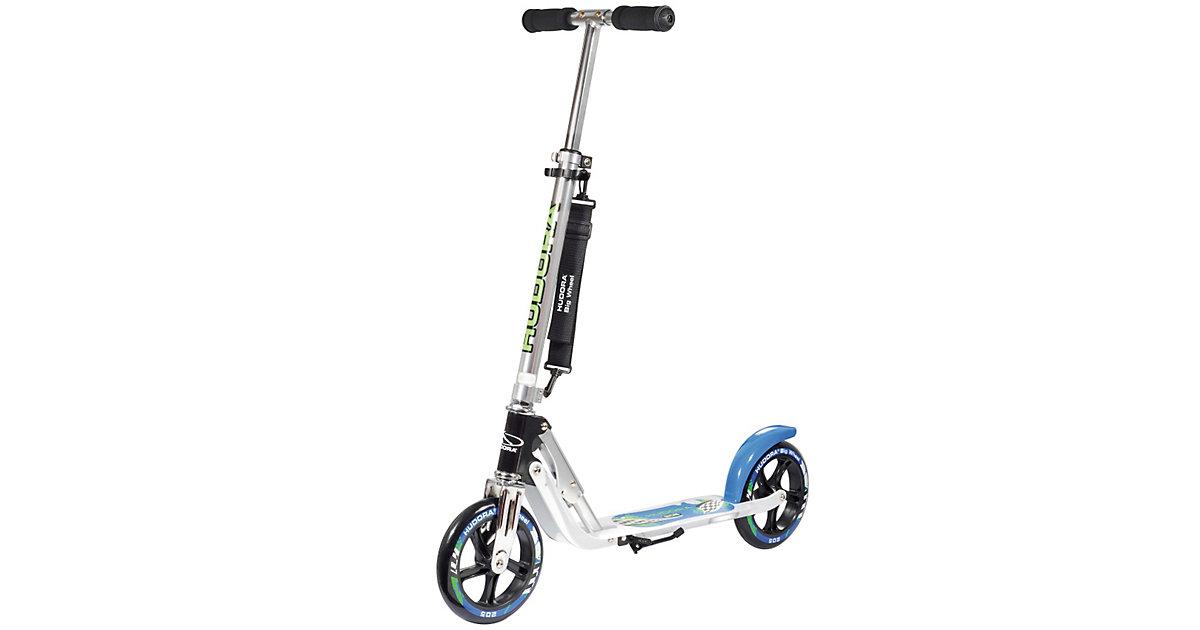 Scooter Big Wheel 205 mm, blau/schwarz