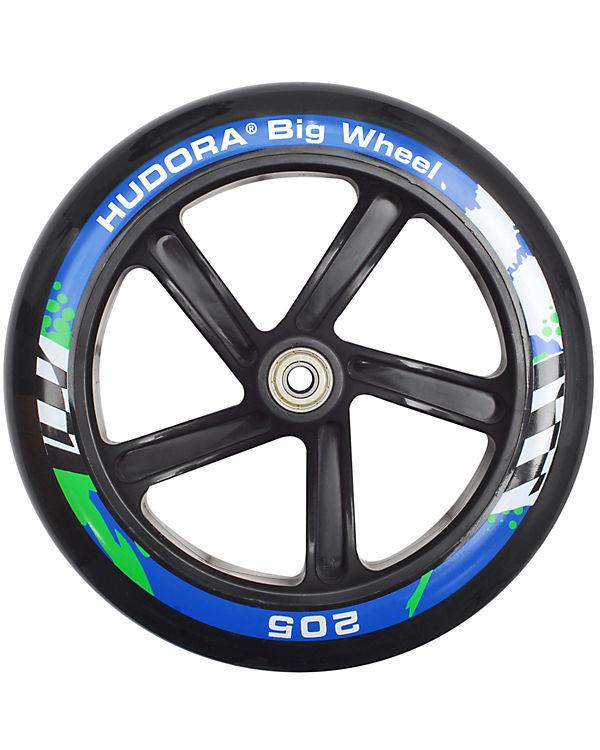 scooter big wheel 205 mm blau schwarz hudora mytoys. Black Bedroom Furniture Sets. Home Design Ideas