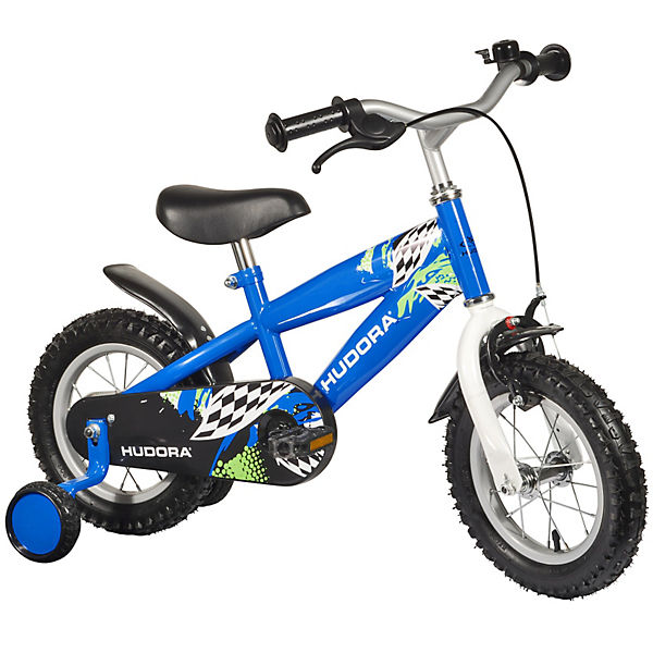 kinderfahrrad rs 3 2 0 12 zoll blau hudora mytoys. Black Bedroom Furniture Sets. Home Design Ideas