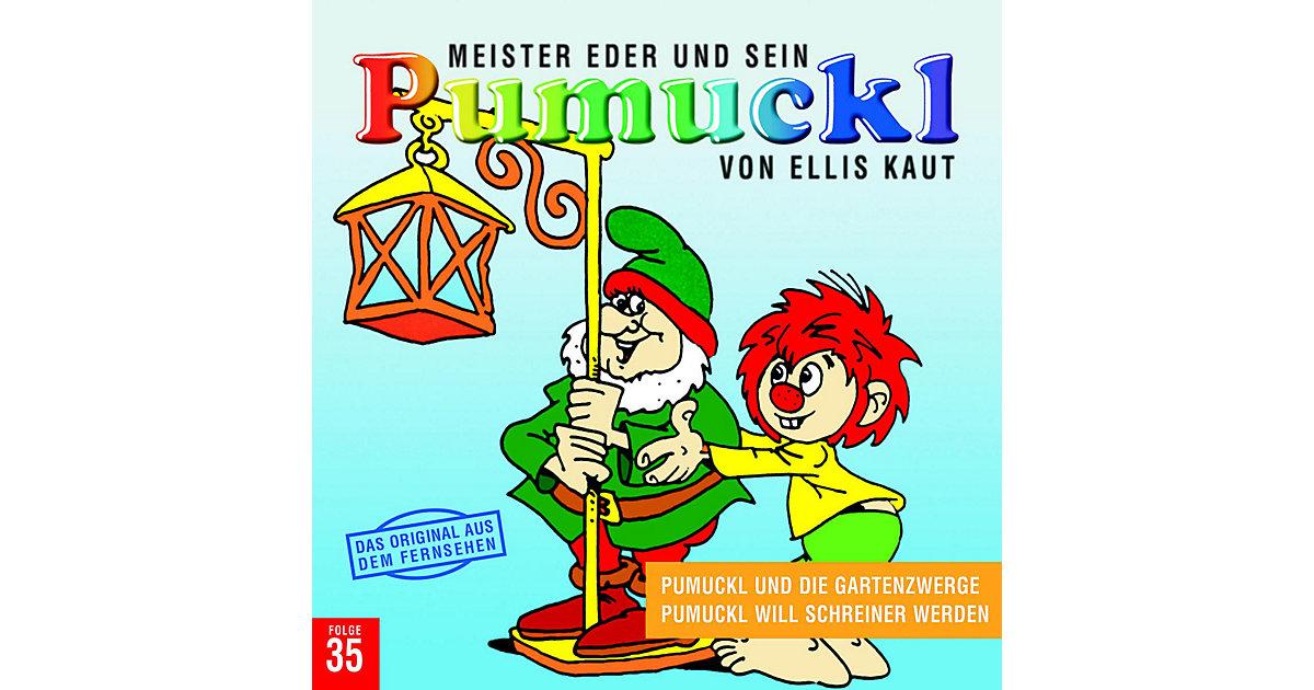 CD Pumuckl 35 - Pumuckl und die Gartenzwerge/ will Schreiner werden Hörbuch