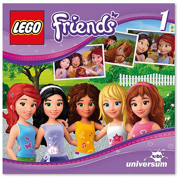CD LEGO Friends 01 - Heartlake City