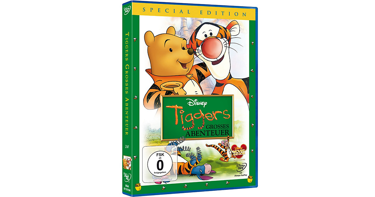 DVD Tiggers großes Abenteuer (Special Edition) Hörbuch