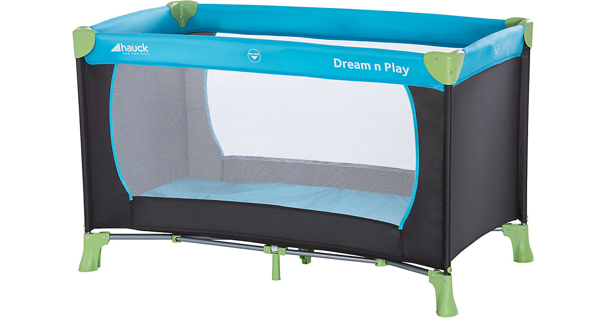Reisebett Dream'n Play, waterblue schwarz