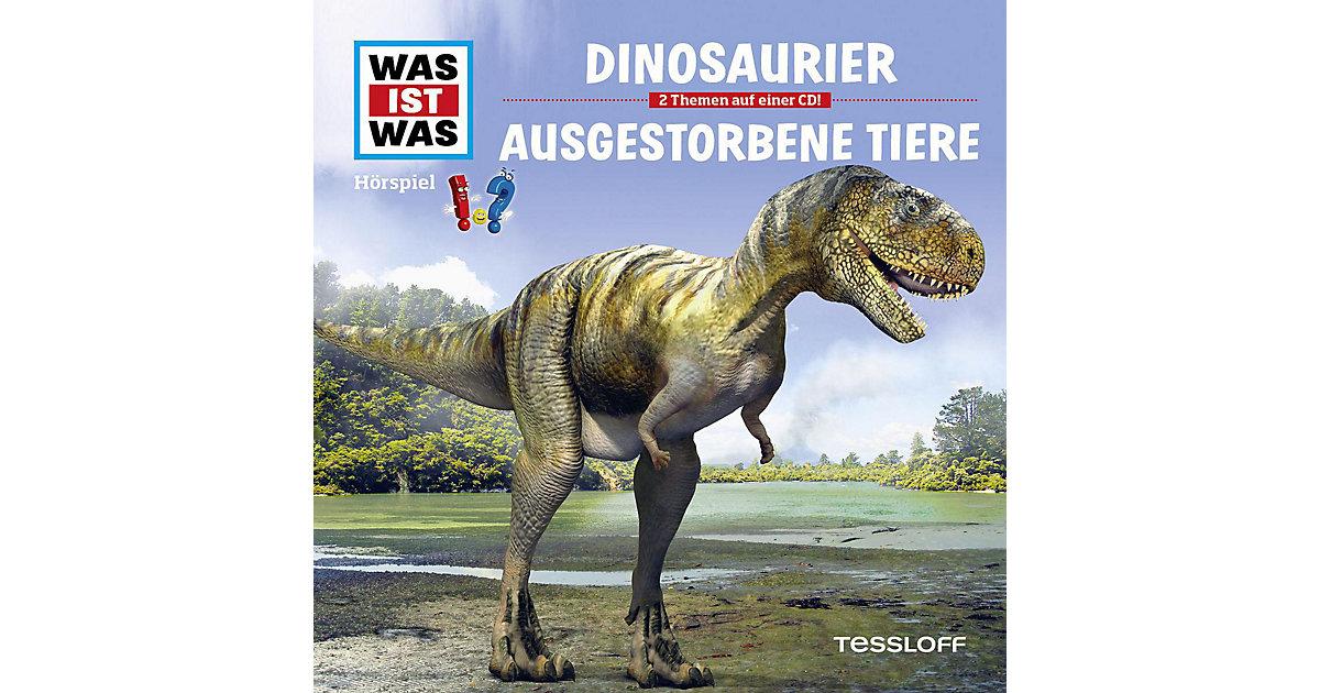 WAS IST WAS 08 - Dinosaurier / Ausgestorbene Tiere Hörbuch