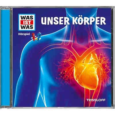 WAS IST WAS Hörspiele: Unser Körper, Audio-CD, Matthias Falk | myToys