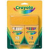 Набор белых и цветных мелков для асфальта, Crayola
