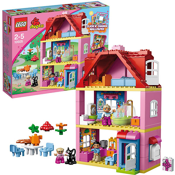 lego 10505 duplo familienhaus lego mytoys. Black Bedroom Furniture Sets. Home Design Ideas