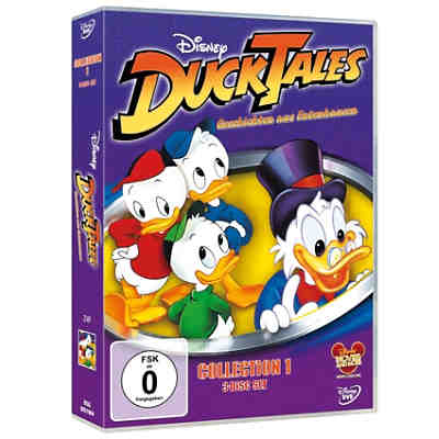 DVD Disney Ducktales Collection 1 - Geschichten aus Entenhausen (3 DVDs)