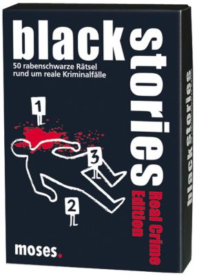 Black Stories - Real Crime Edition, moses. Verlag