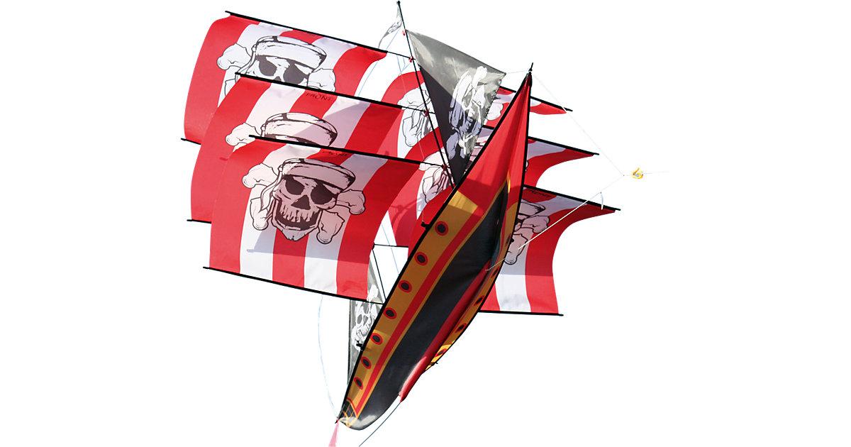 Drachen 3D Piratenschiff