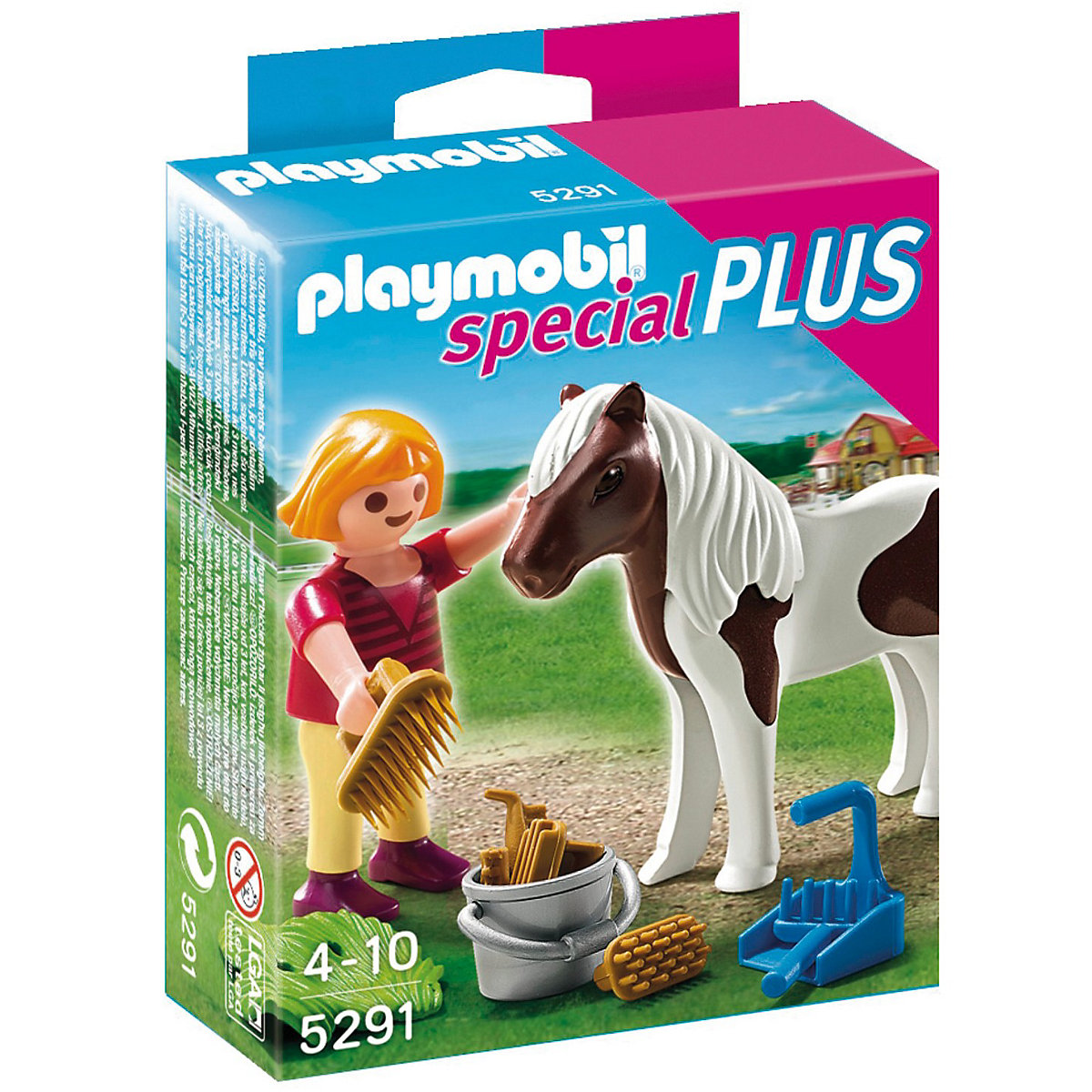 playmobil® 5291 mädchen beim pony playmobil®  mytoys