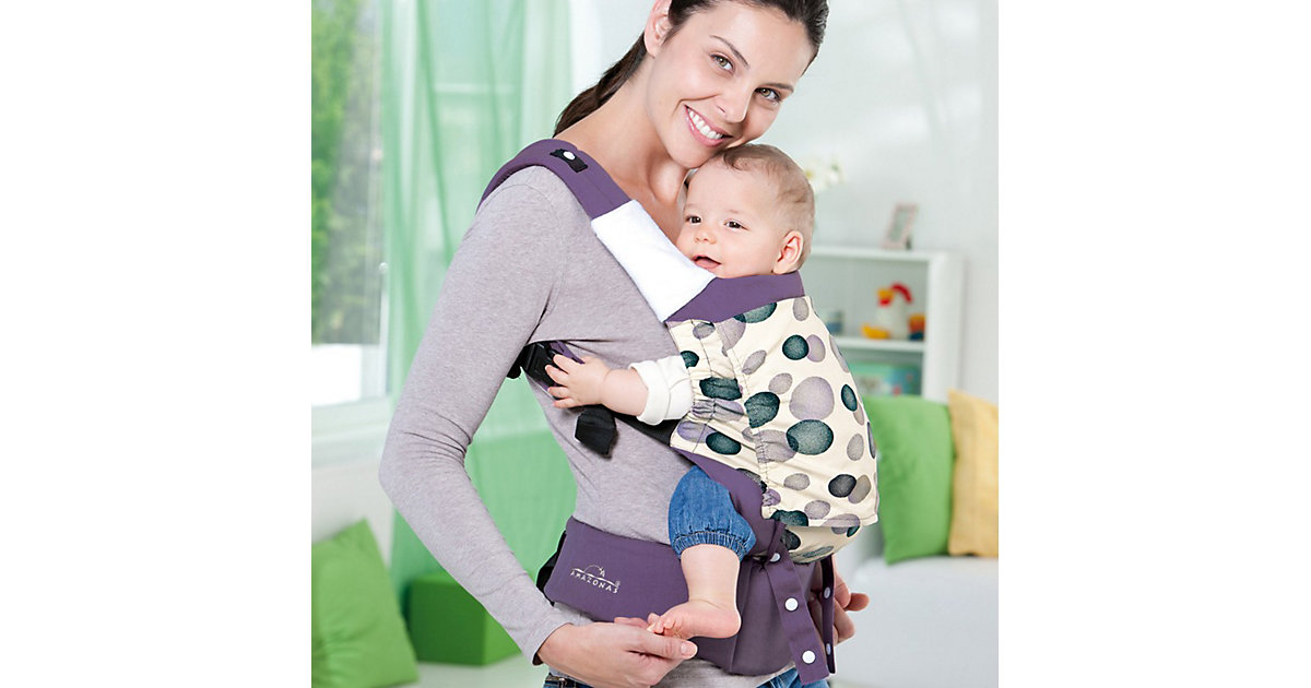 AMAZONAS · AMAZONAS Baby Trage Smart Carrier Blueberry lila