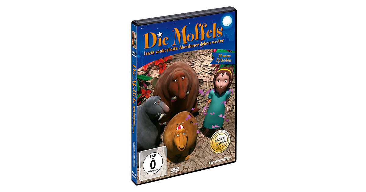 DVD Die Moffels - Vol. 2 (Episoden 14-26)