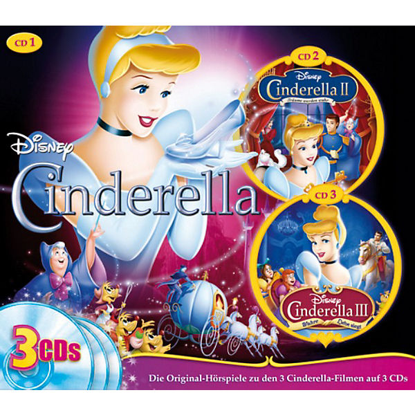 CD Disney 3er Box Cinderella 1-3