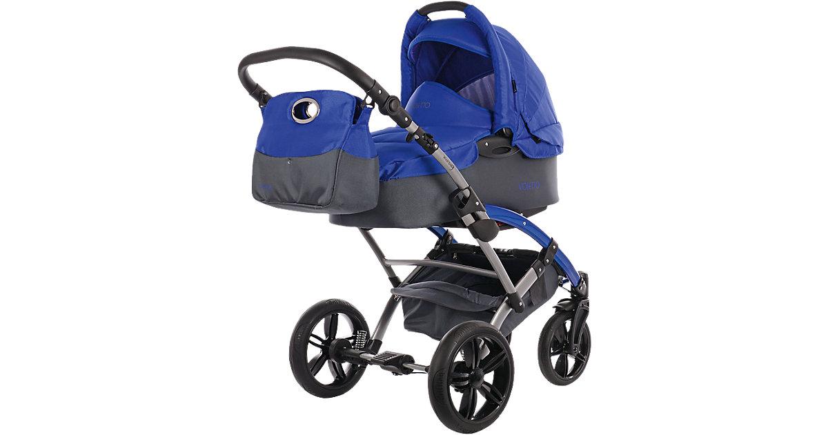 Knorr Toys · knorr-baby Kombikinderwagen Voletto Sport grau-blau