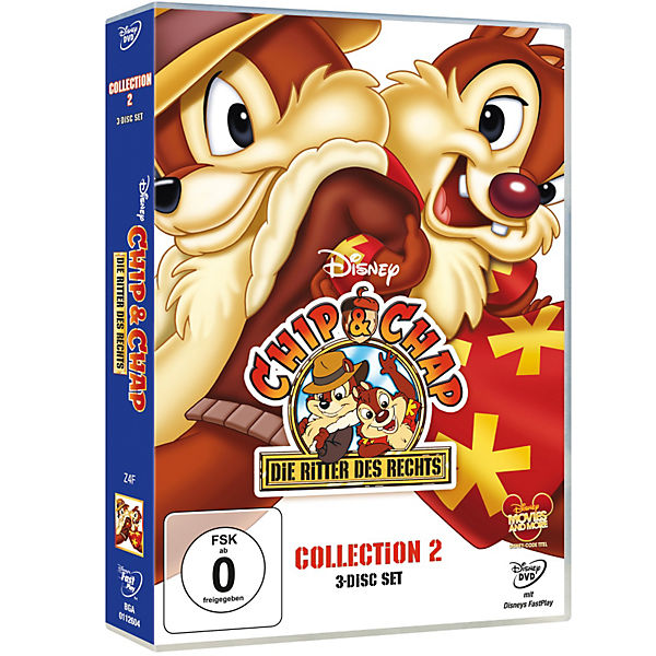 Dvd Chip Chap Die Ritter Des Rechts Collection 2 Disney Mytoys