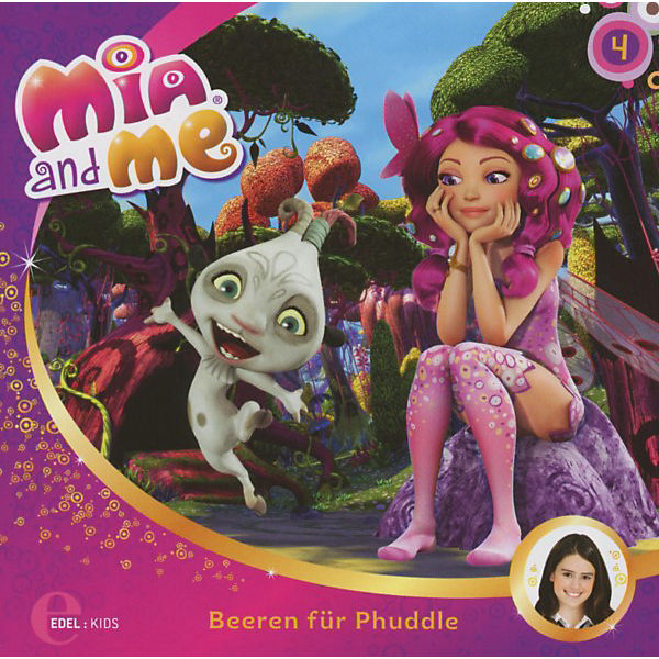 CD  Mia and me 04 - Beeren für Phuddle