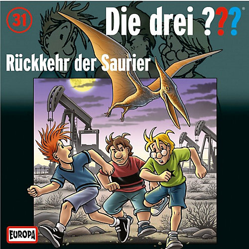 - Die drei ??? Kids 31: Rückkehr der Saurier (CD) jetztbilligerkaufen