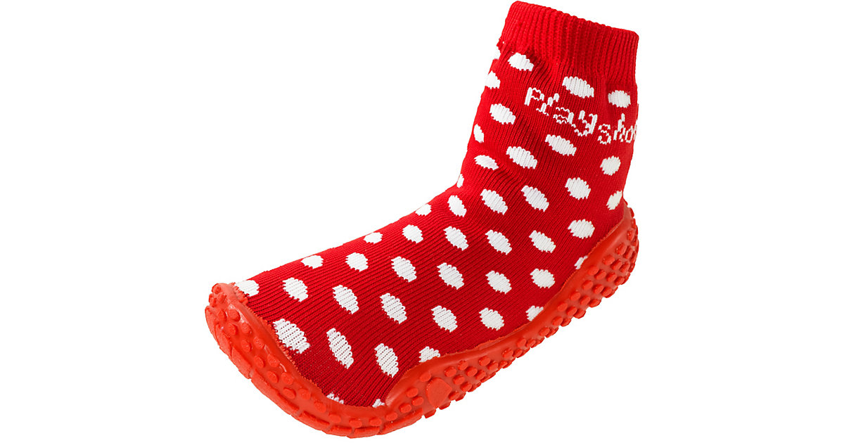 PLAYSHOES Kinder Aqua-Socken rot Gr. 18/19 Mädchen Baby