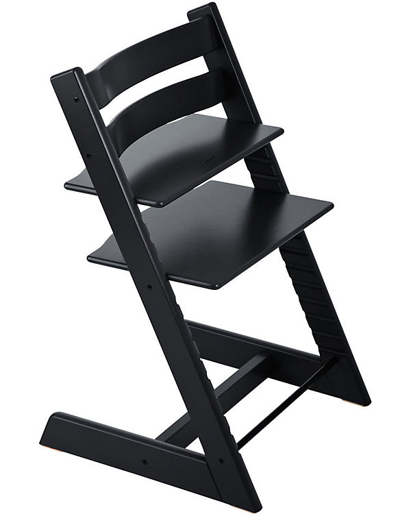 tripp trapp hochstuhl classic collection black stokke mytoys. Black Bedroom Furniture Sets. Home Design Ideas
