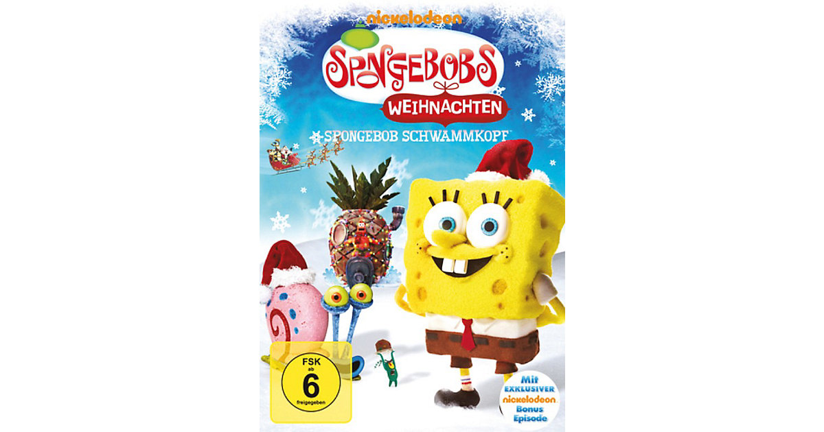 dvd spongebob schwammkopf spongebobs weihnachten. Black Bedroom Furniture Sets. Home Design Ideas