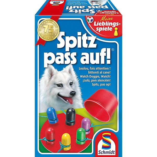 Schmidt Spiele Spitz pass auf Spiel Familenspiel Familien Gesellschafftsspiel