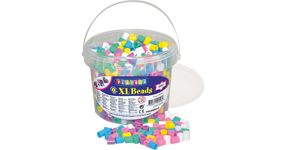 XL-Bügelperlen im Eimer, Pastellfarben, 950 Stück
