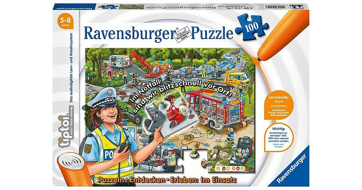 tiptoi® Puzzle - Entdecken & Erleben: Die Polizei im Einsatz (ohne Stift), 100 Teile