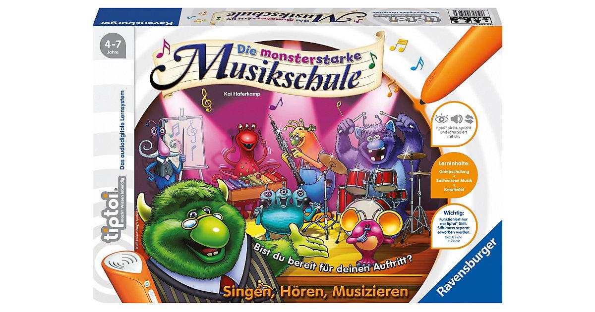 tiptoi: Die monsterstarke Musikschule (ohne Stift)