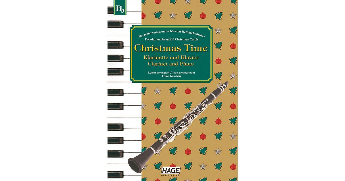 Christmas Time, Klarinette und Klavier Kinder