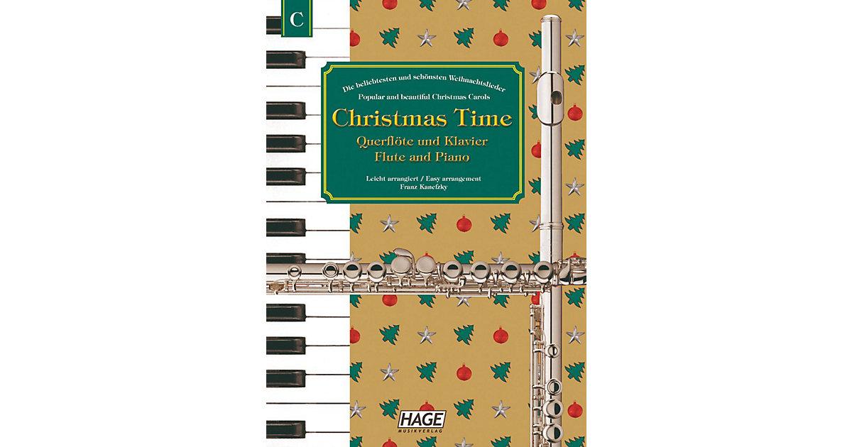 Christmas Time, Querflöte und Klavier Kinder