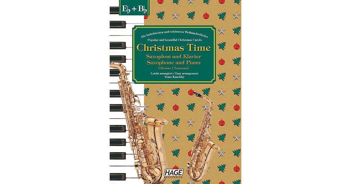Christmas Time, Saxophon und Klavier Kinder