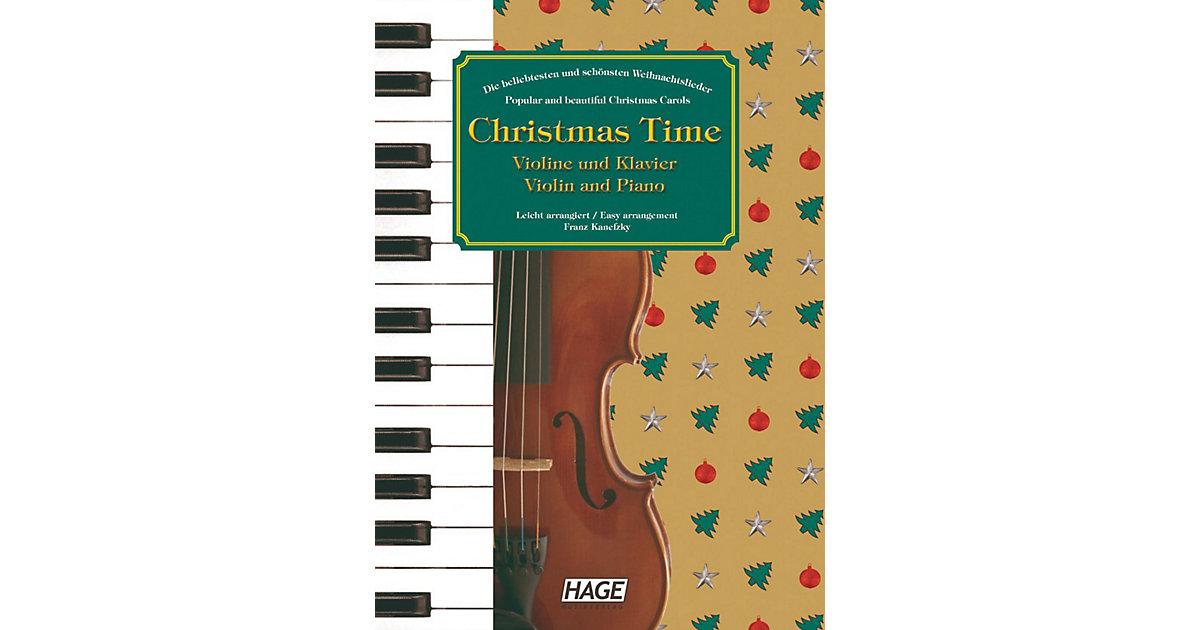 Christmas Time, Violine und Klavier Kinder