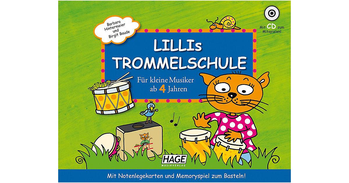 Lillis Trommelschule, mit Audio-CD