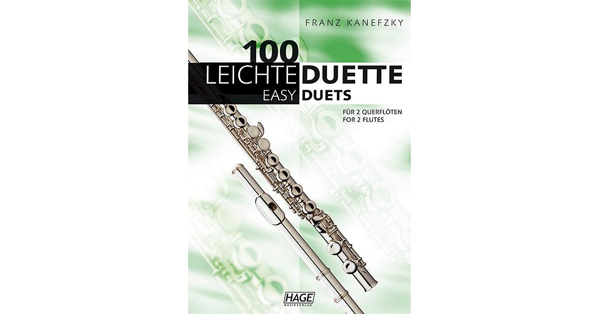 100 leichte Duette 2 Querflöten, 100 Easy Duets...