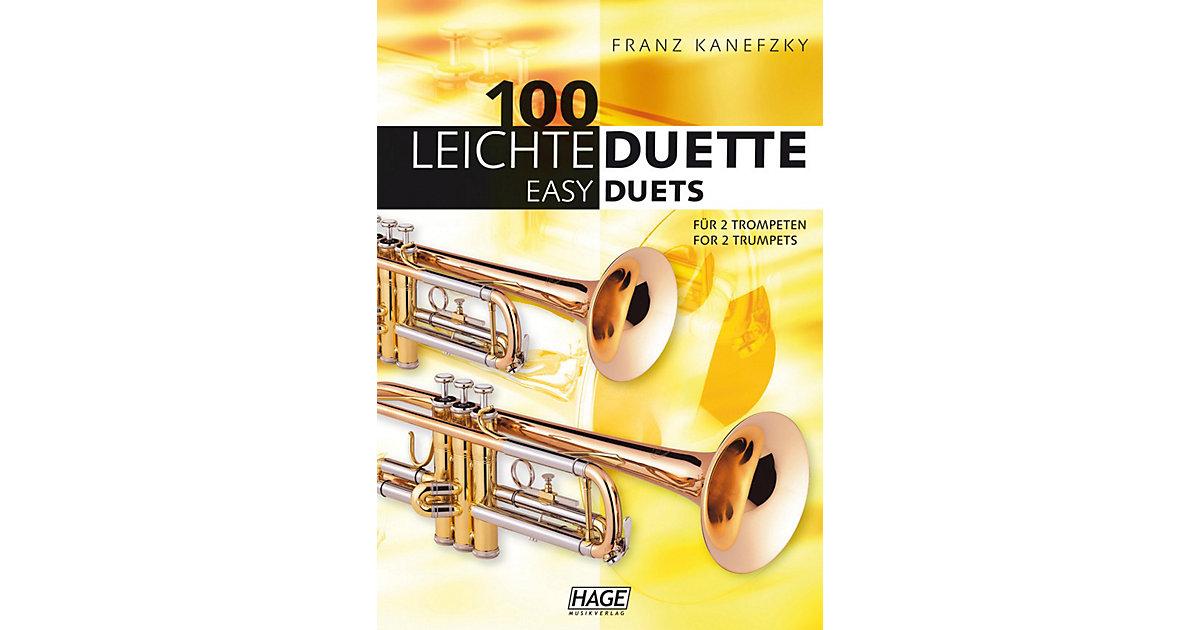 100 leichte Duette 2 Trompeten, 100 Easy Duets ...