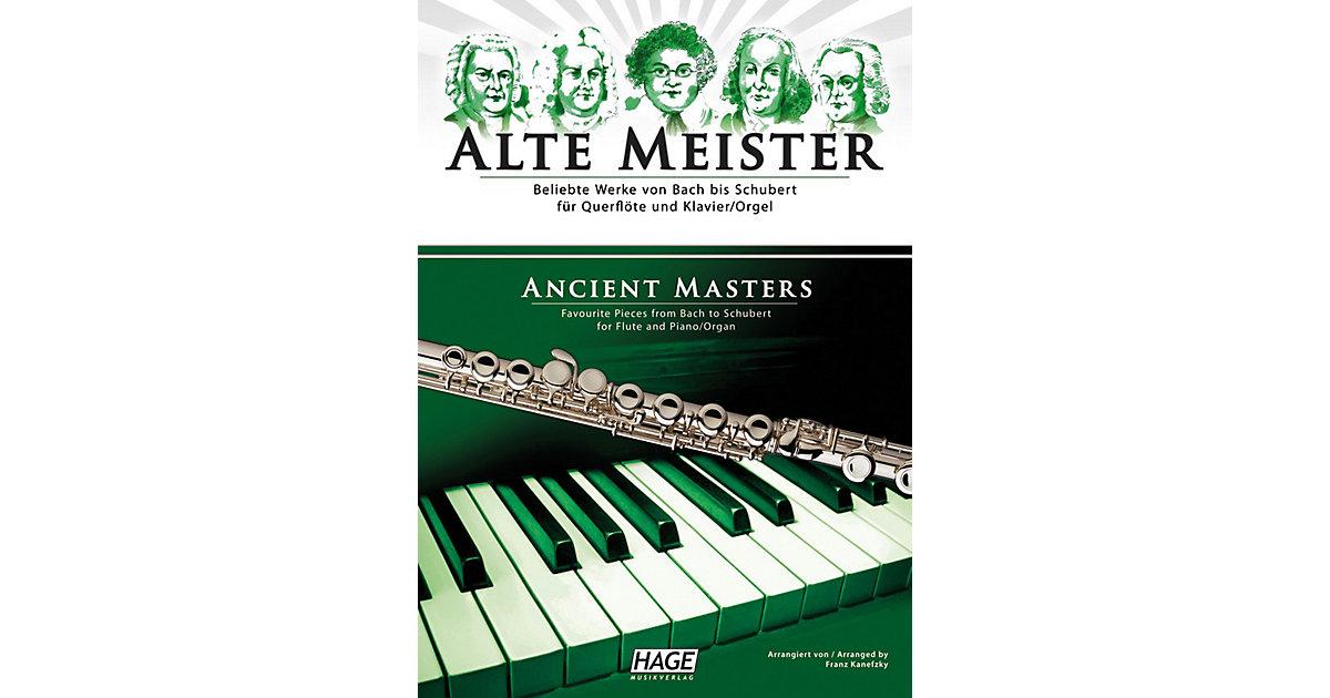 Alte Meister, Querflöte und Klavier/Orgel, Quer...